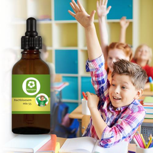 Bachbloesem Mix 55 Drukke kinderen met concentratietekort